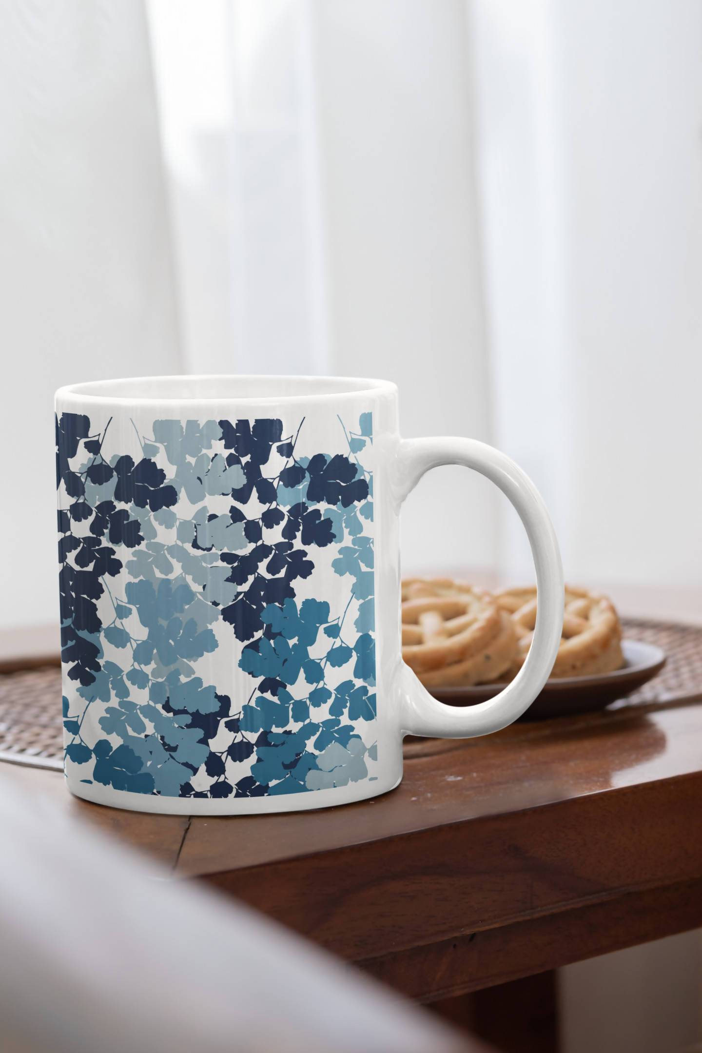Blue Blues Mug - Anushree Bhat - 21 AD
