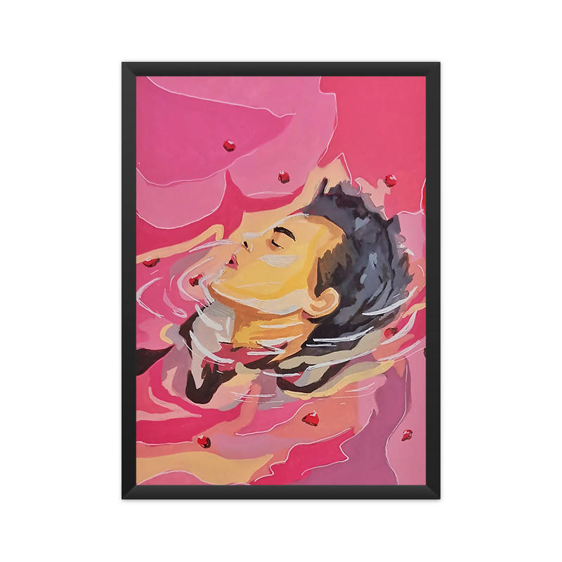 Harry Styles A4 Framed Poster - Sejal Gupta