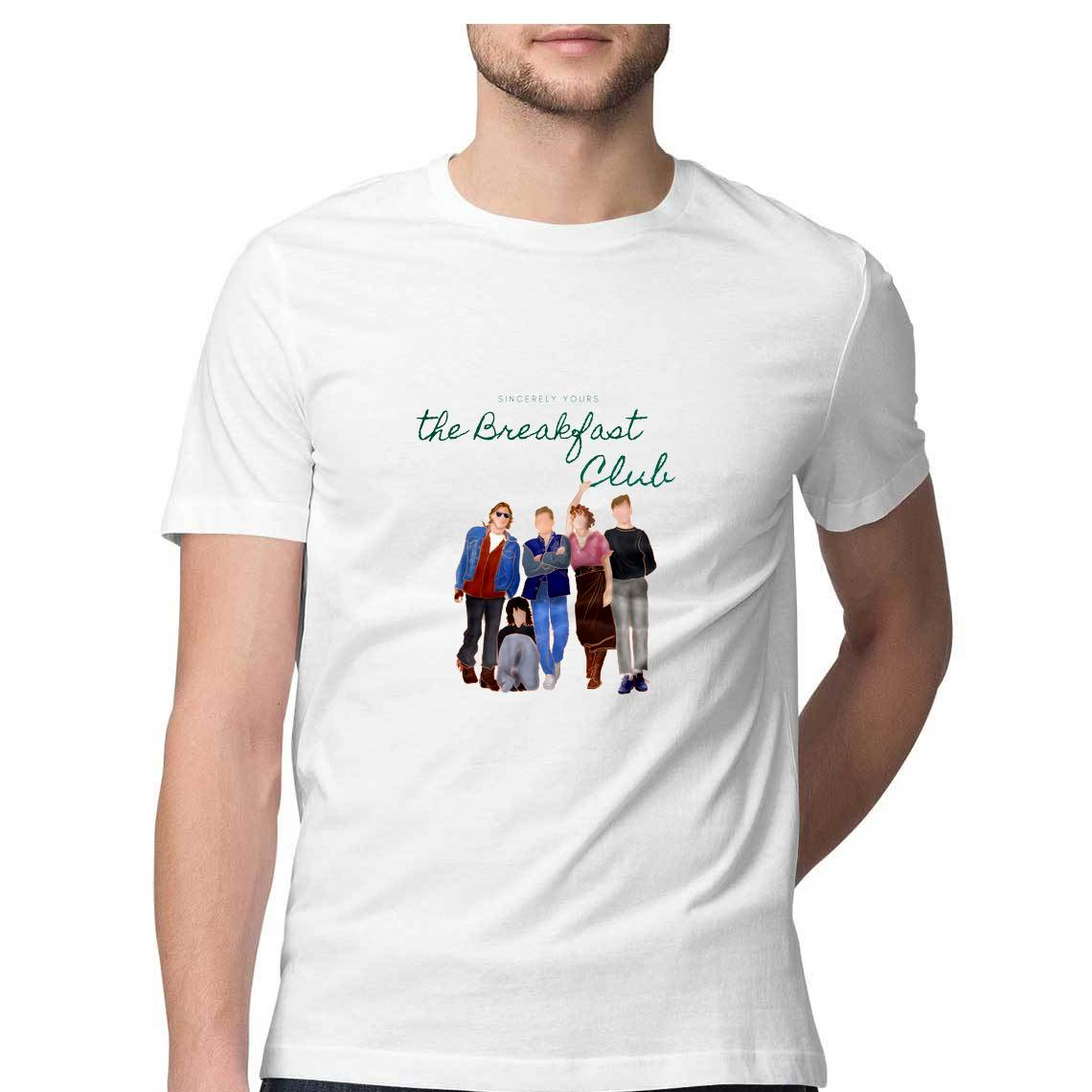 The Breakfast Club Men's T Shirt - Shruti Unnikrishnan