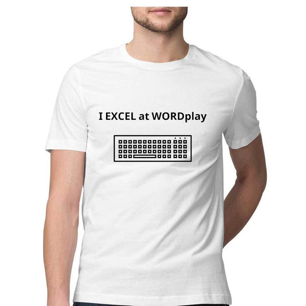 I Excel at Wordplay Men's T Shirt - Sarthak Baijal