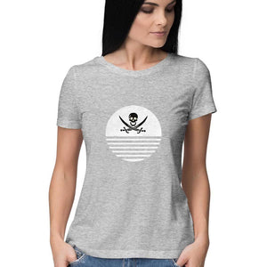 White Danger Women's T Shirt - the_infi_art
