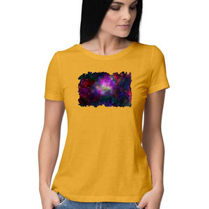 Infinite World women's Half sleeves T shirt -Anushua Chakraborty - 21 AD