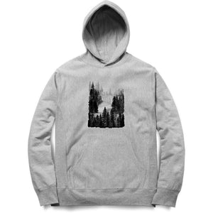 White Forest Hoodie -Anushua Chakraborty - 21 AD