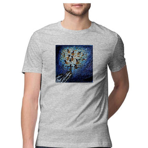 Fireflies men's T Shirt-Meghana Raghuraj