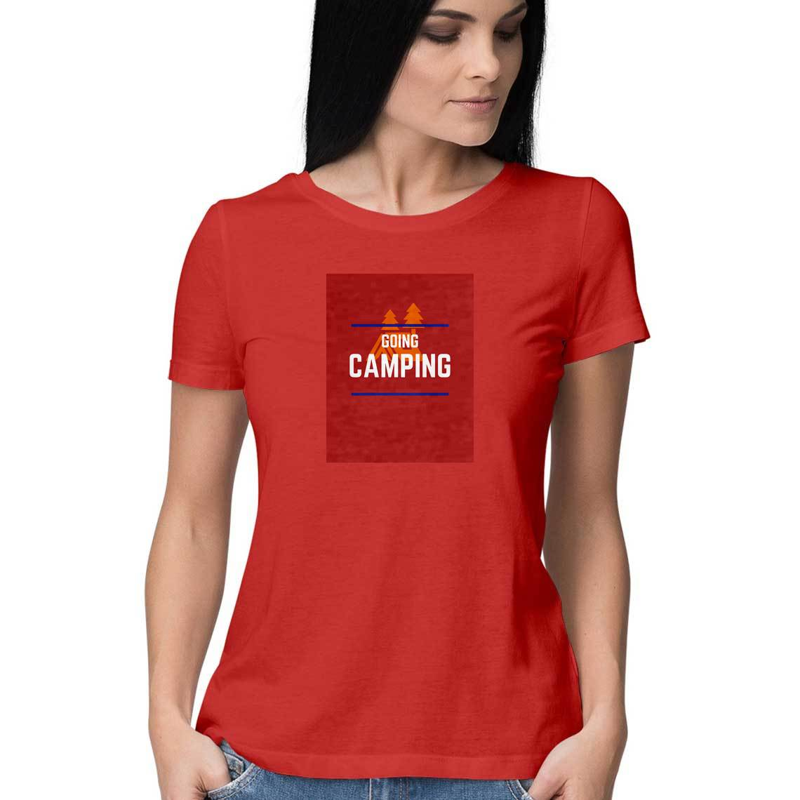 Going Camping Women's Travel Tee