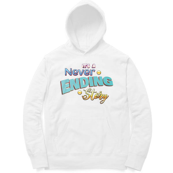 Its a never Ending Story - Stranger Things Hoodie - AravindanGanesh