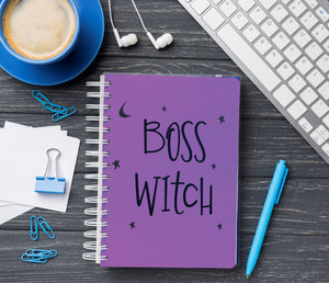 Boss witch Notebook