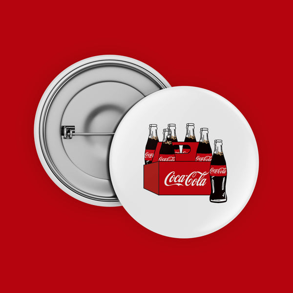 coke crate button badge- Kasturi Sarmah