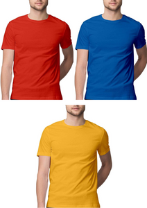 Solid Tees - Primary Colors Pack - Men