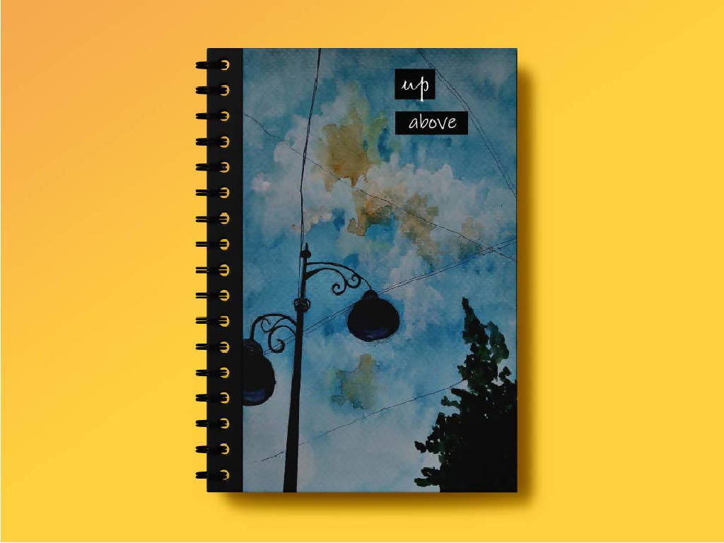 Up Above 5-Notebook- Khushi Gothi
