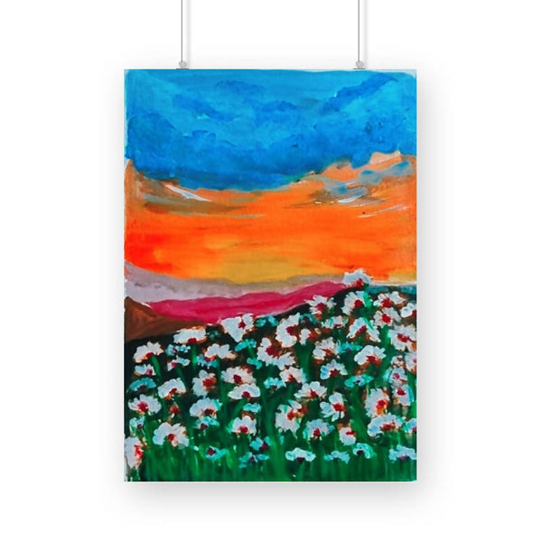 Flower Fields Poster
