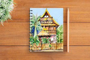 Caribbean Hut Notebook