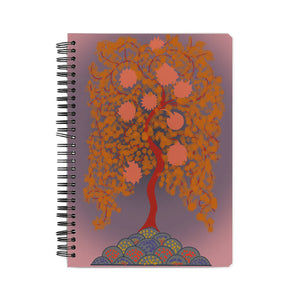The Tree of life A5 Notebook Hrudya