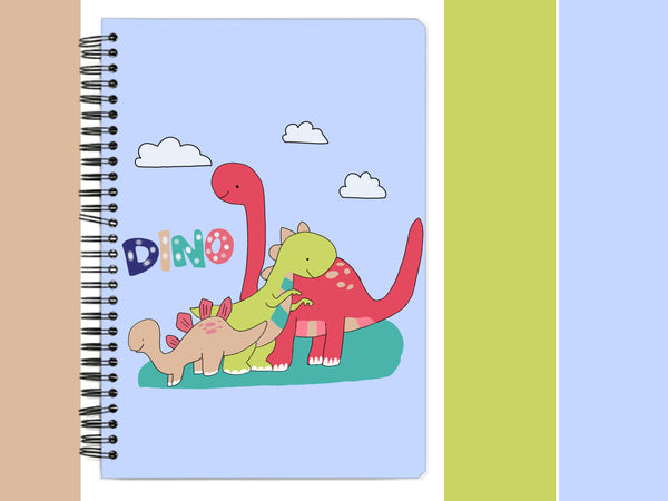 It's Okay To Not Be Okay Dino Spiral Notebook