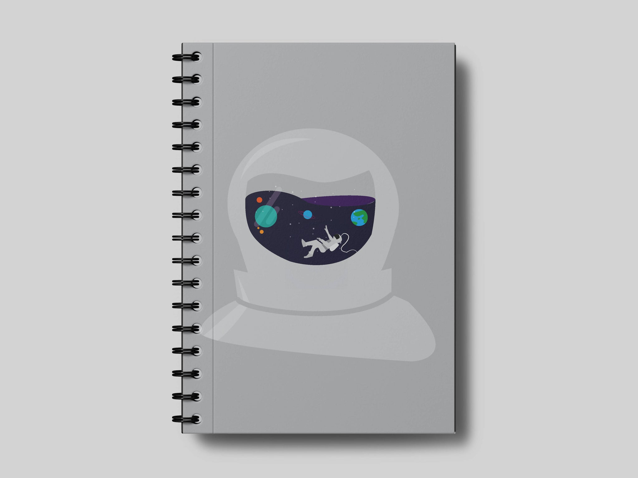 Lost in Space A5 Notebook- Minimalist for now