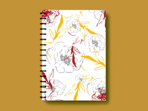SUMMER BLOOMING A5 NOTEBOOK - SONAL