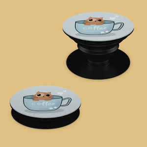 Cute Kitty Pop Socket