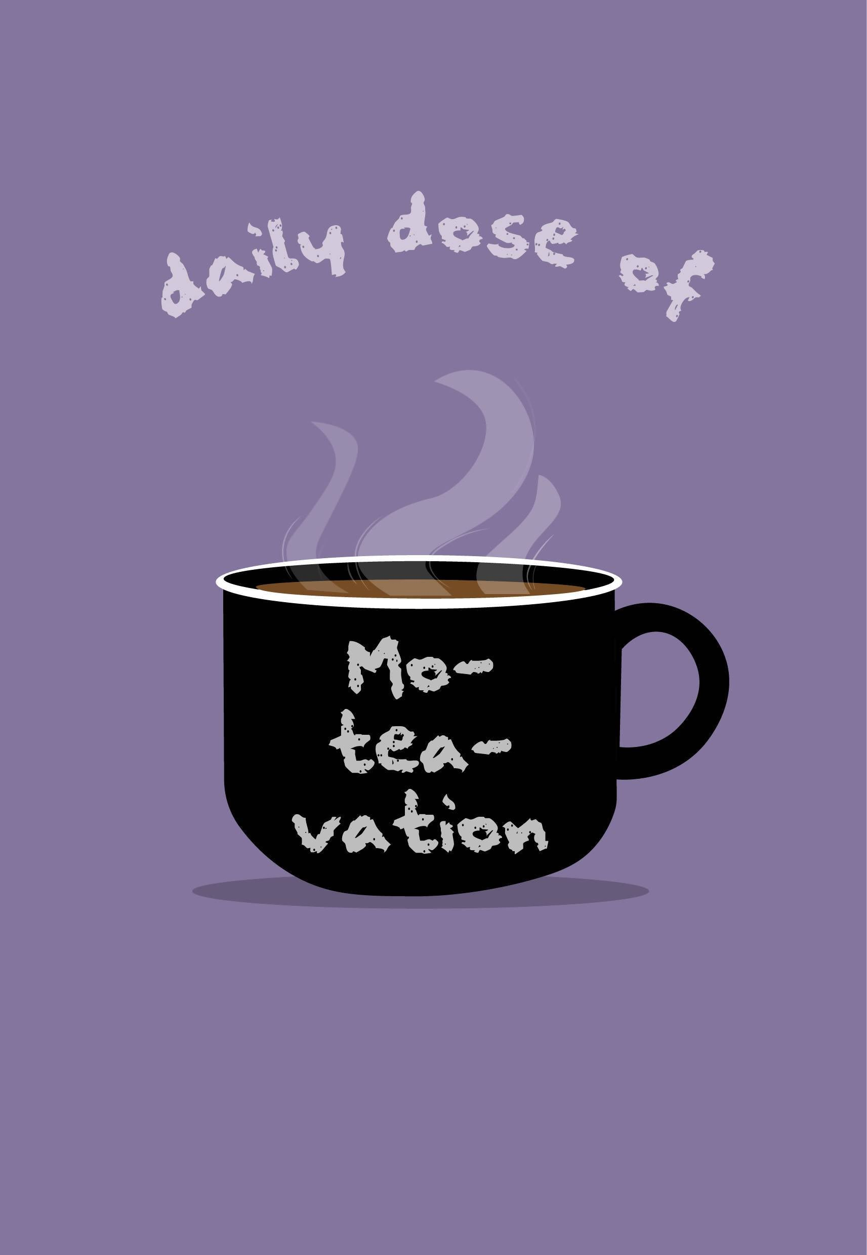 Mo-Tea-Vation Notebook