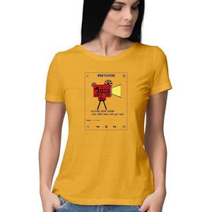 Year 2020 women's T Shirt- Sriya - 21 AD