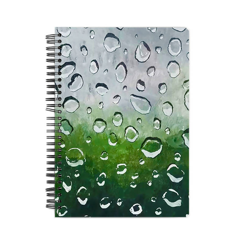 Drops A5 Notebook - Sejal Gupta