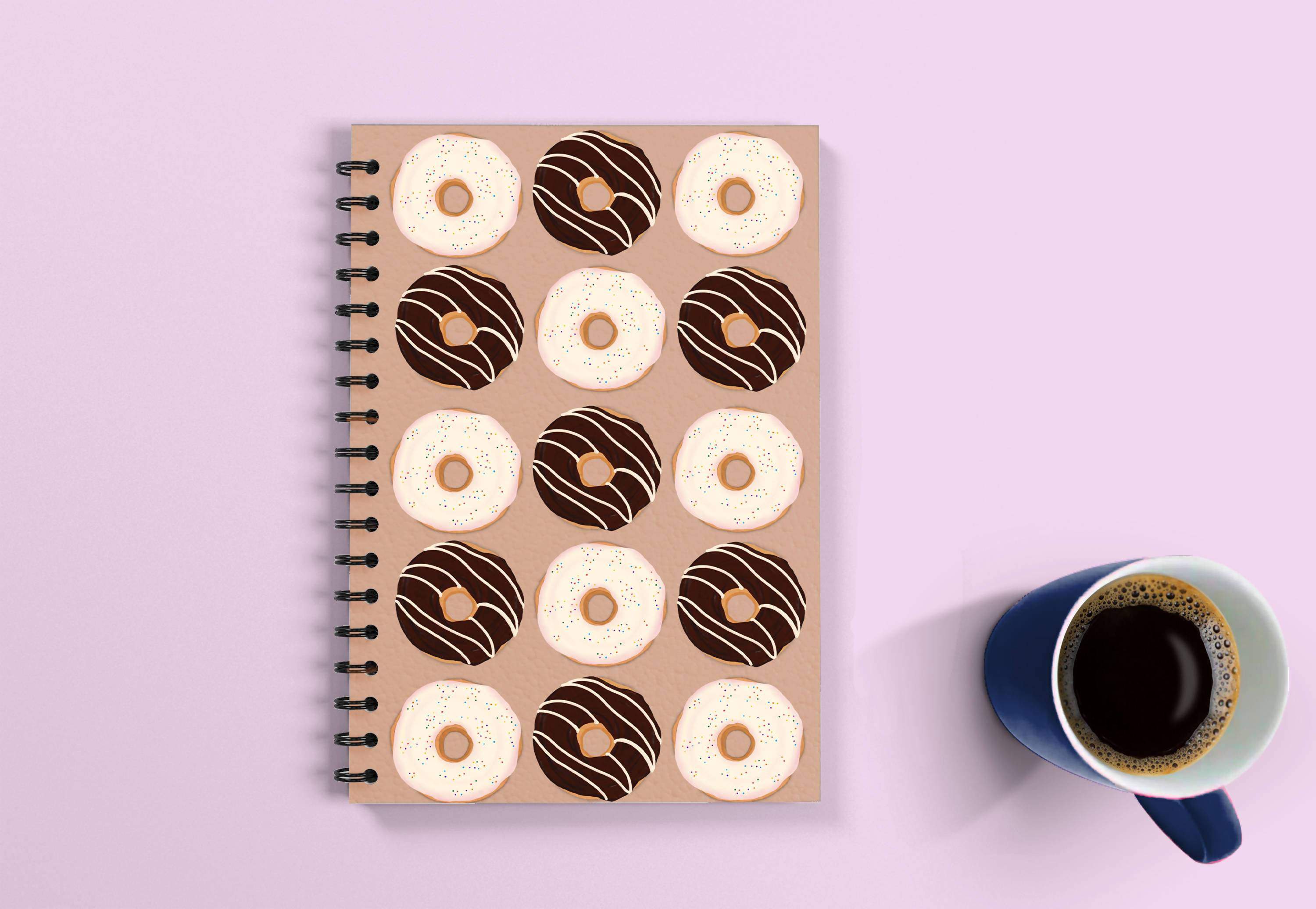 Donut Love Notebook - 21 AD