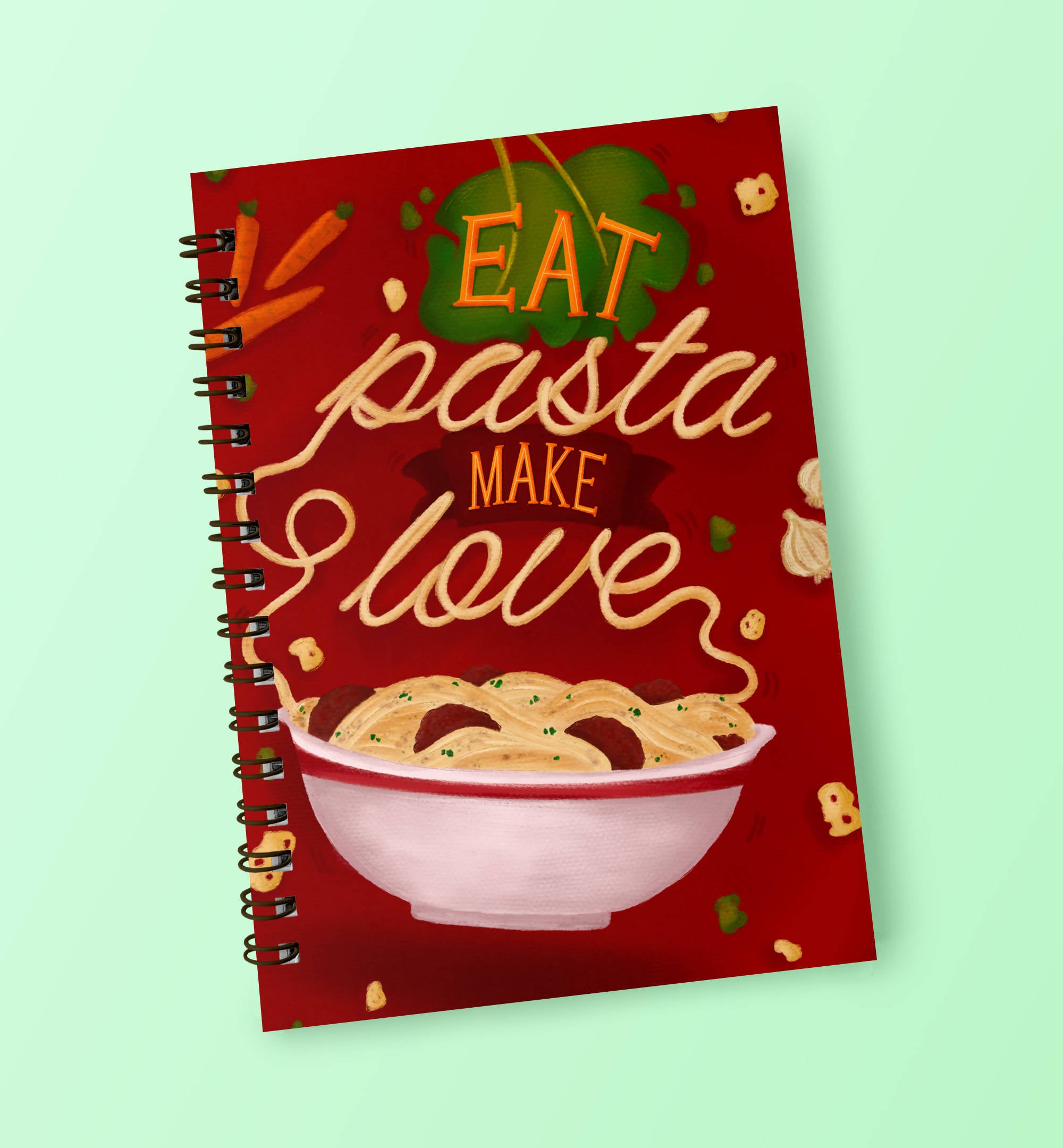 I Love Pasta Notebook