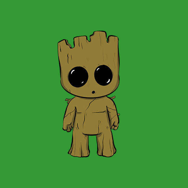 Groot Pop Grip | Yash Kanbargi