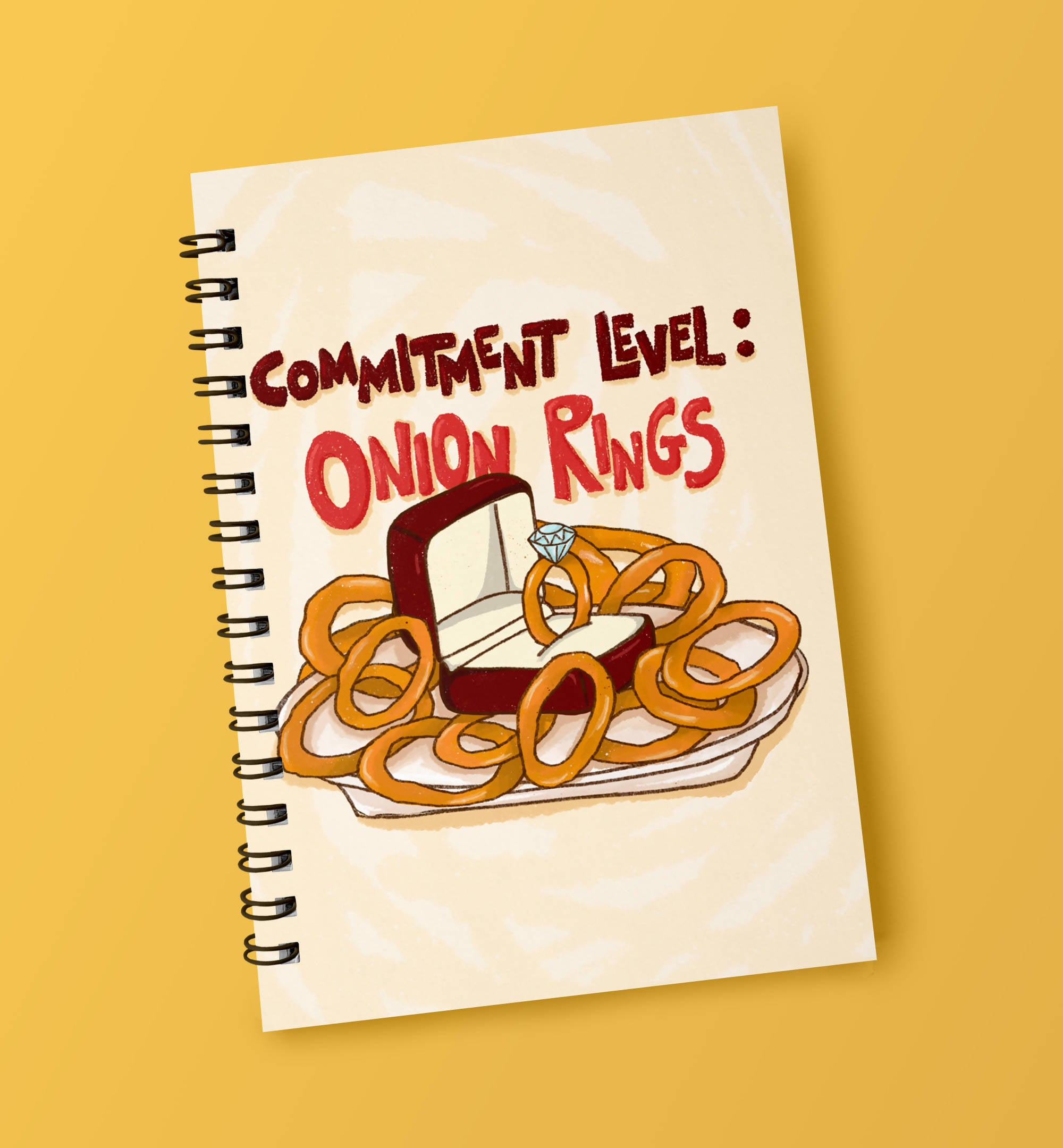 Onion Rings Notebook