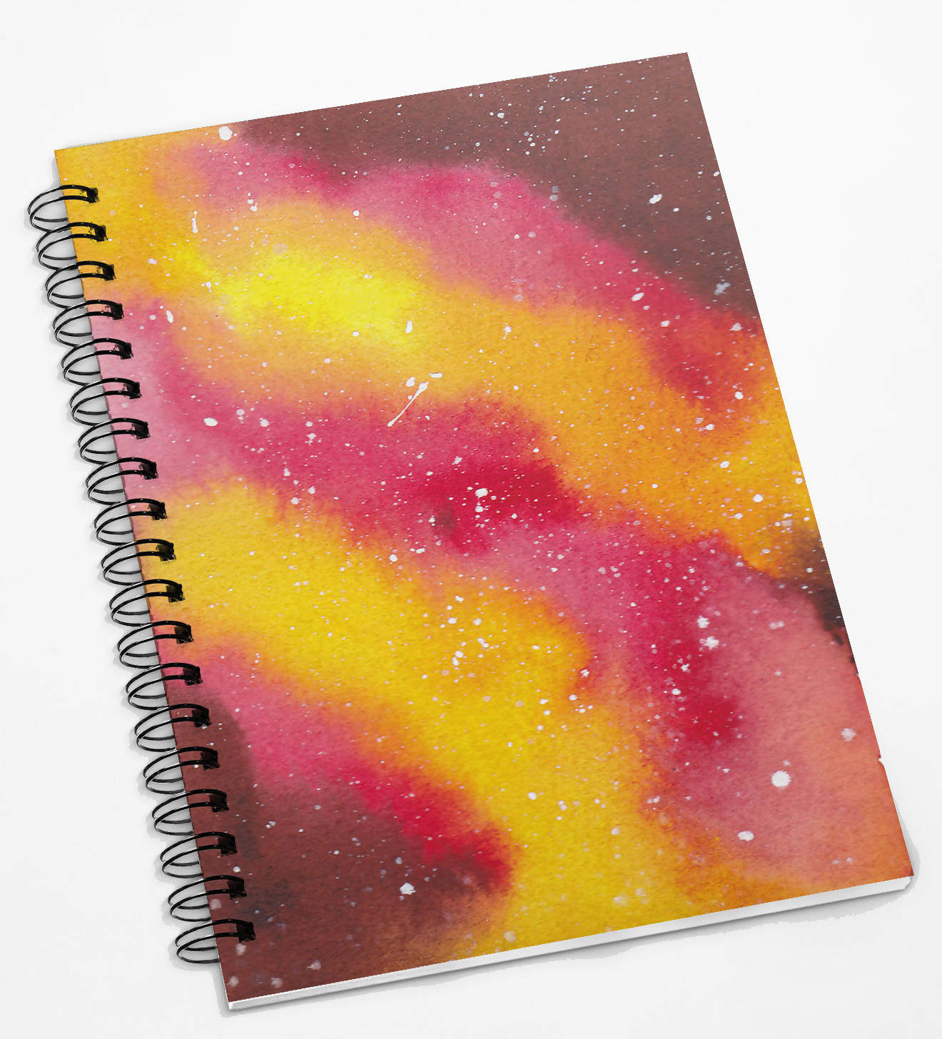 Pink Galaxy Notebook