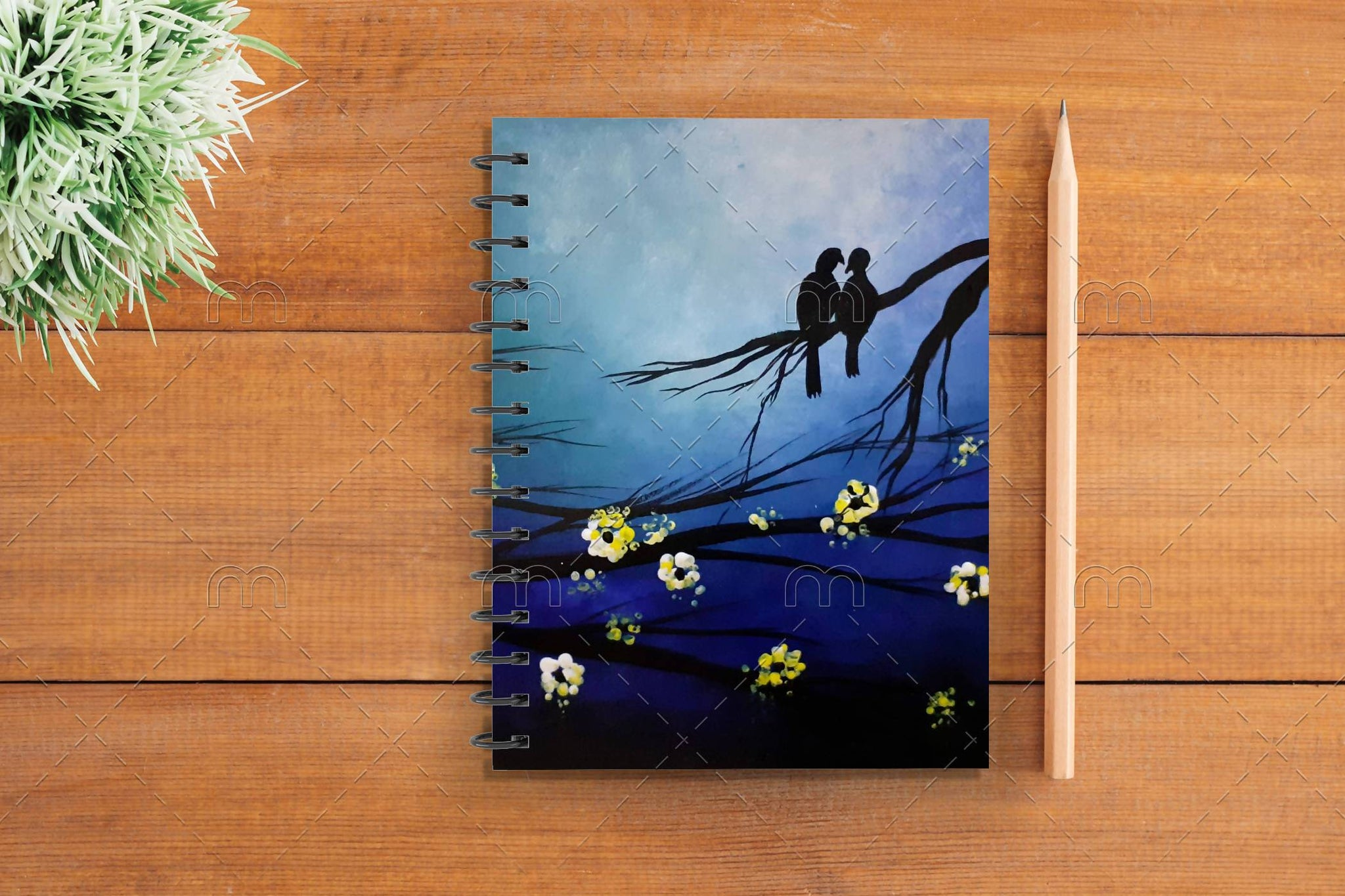 Night Landscape Notebook - 21 AD