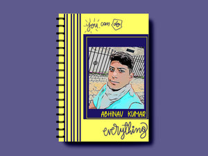 PERSONALISED A5 NOTEBOOK - SONAL