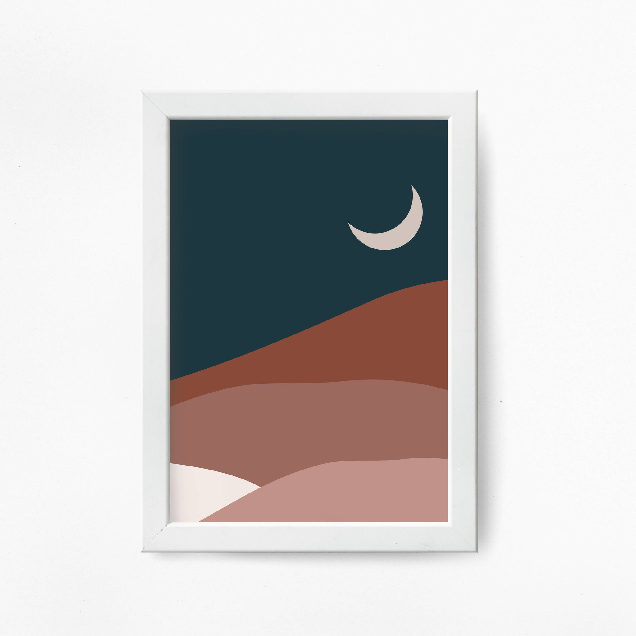 Sunset A3 Poster - The Print Route