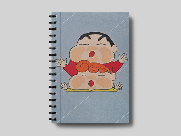 ShinChan A5 Notebook - Sejal Gupta