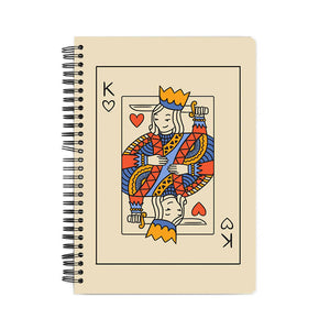 King of Hearts Notebook - Mary Ann