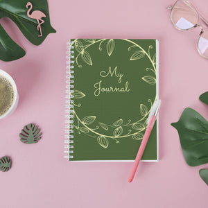 MY JOURNAL NOTEBOOK-VIJAYAA KANOI