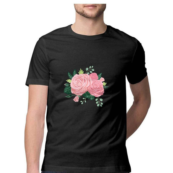 Flower Men's T Shirt - Cosmic Lemon