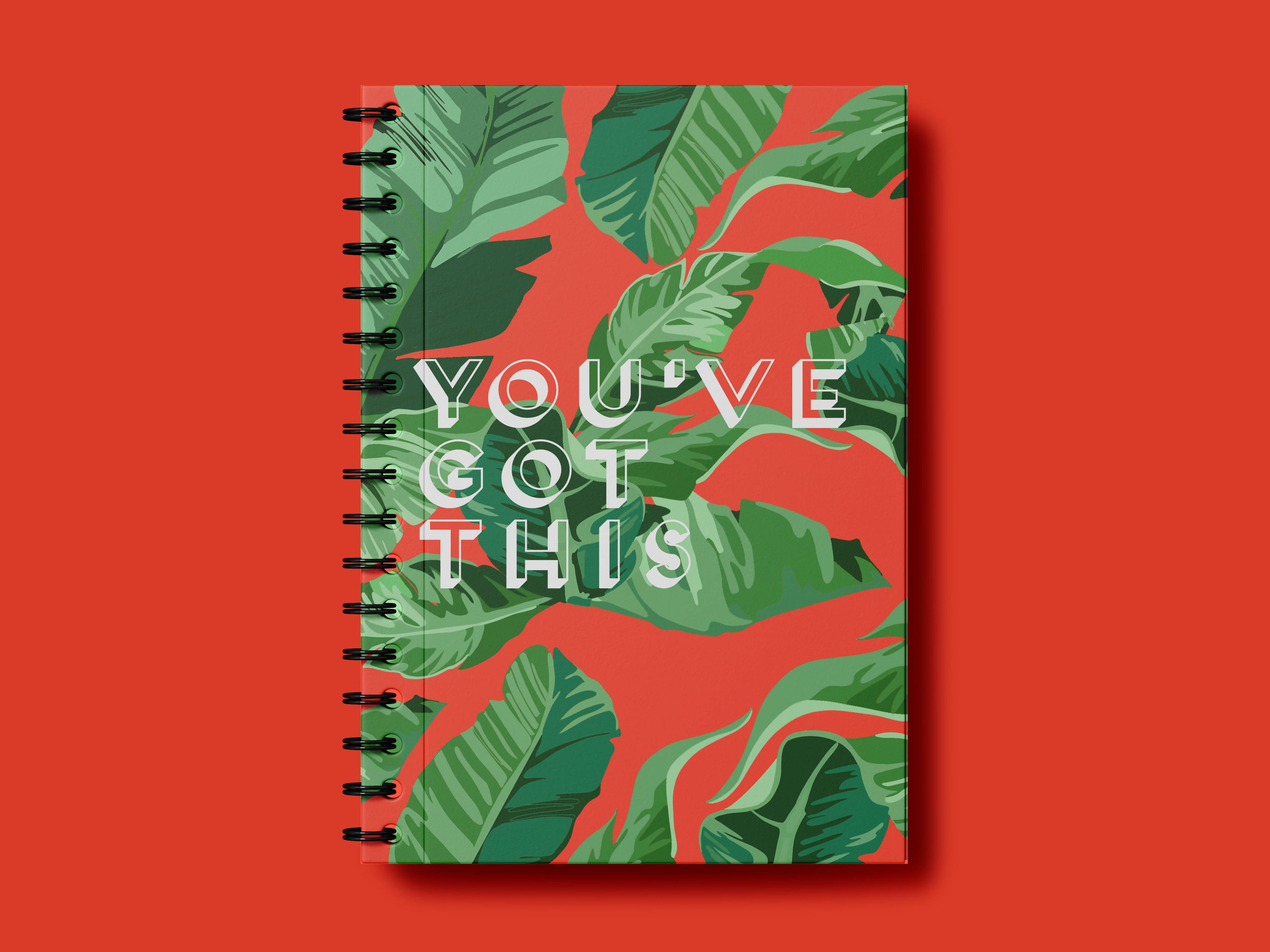 You've got this A5 notebook - Maahi Deshmukh