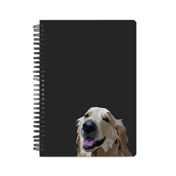 Golden retriever by ardent_illustrations