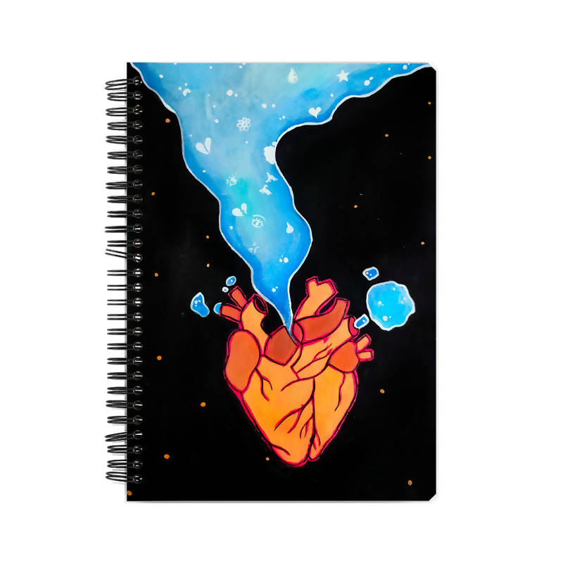 Galaxy Heart A5 Notebook - Chinmayi Hegde