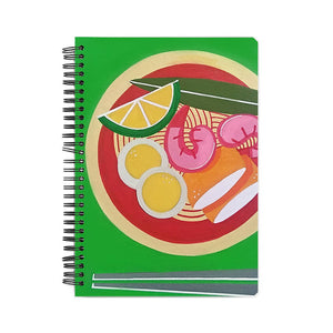 Ramen Bowl A5 Notebook - Sejal Gupta