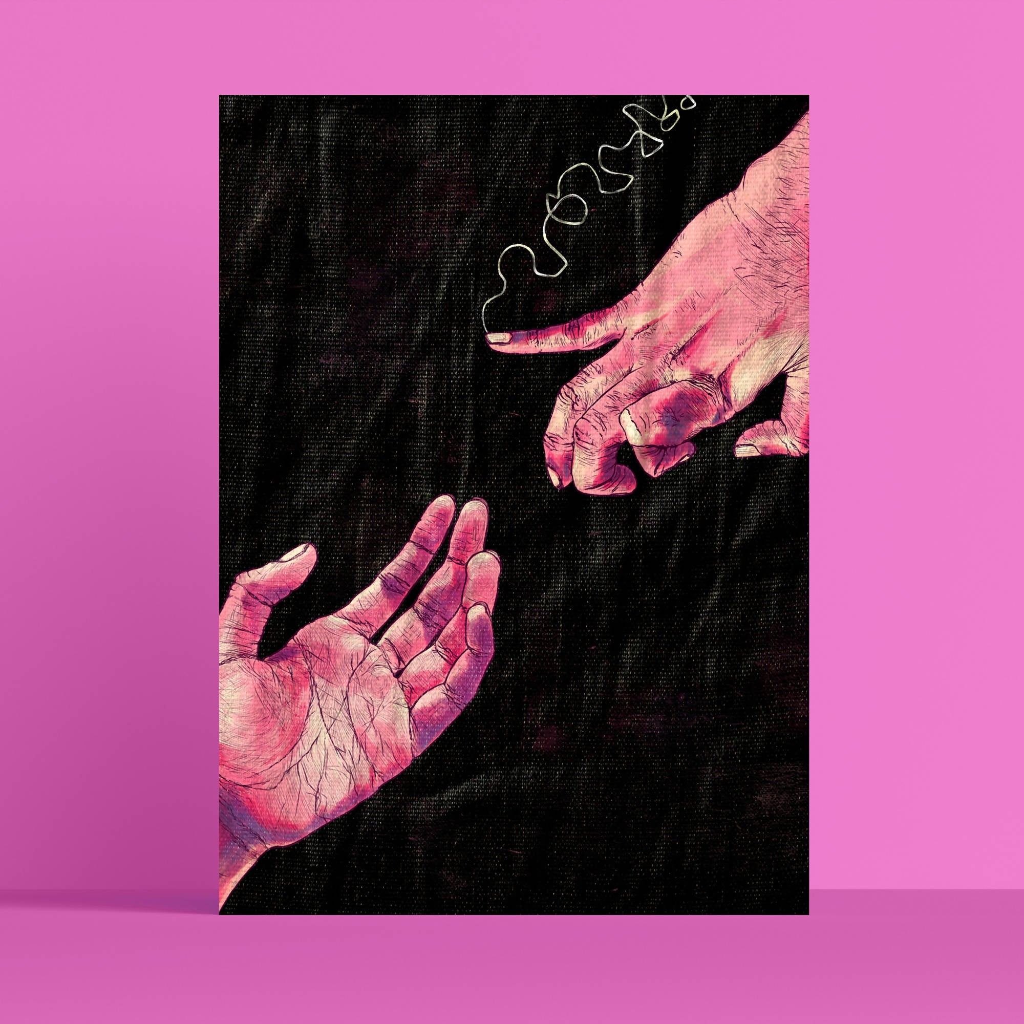 Love and Indecision A4 Poster | Alafiya Hasan