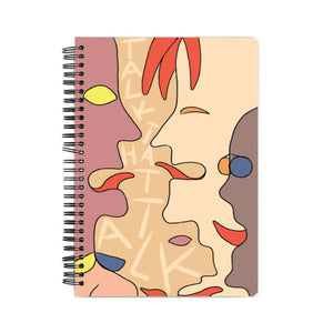 Talk That Talk Notebook(A5)