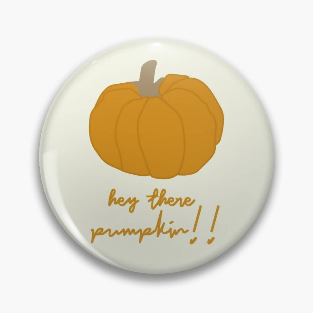Hey Pumpkin Fall Badge - The Print Route