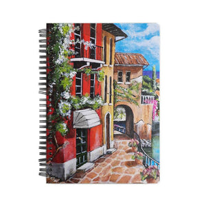 RED STREET NOTEBOOK - 21 AD