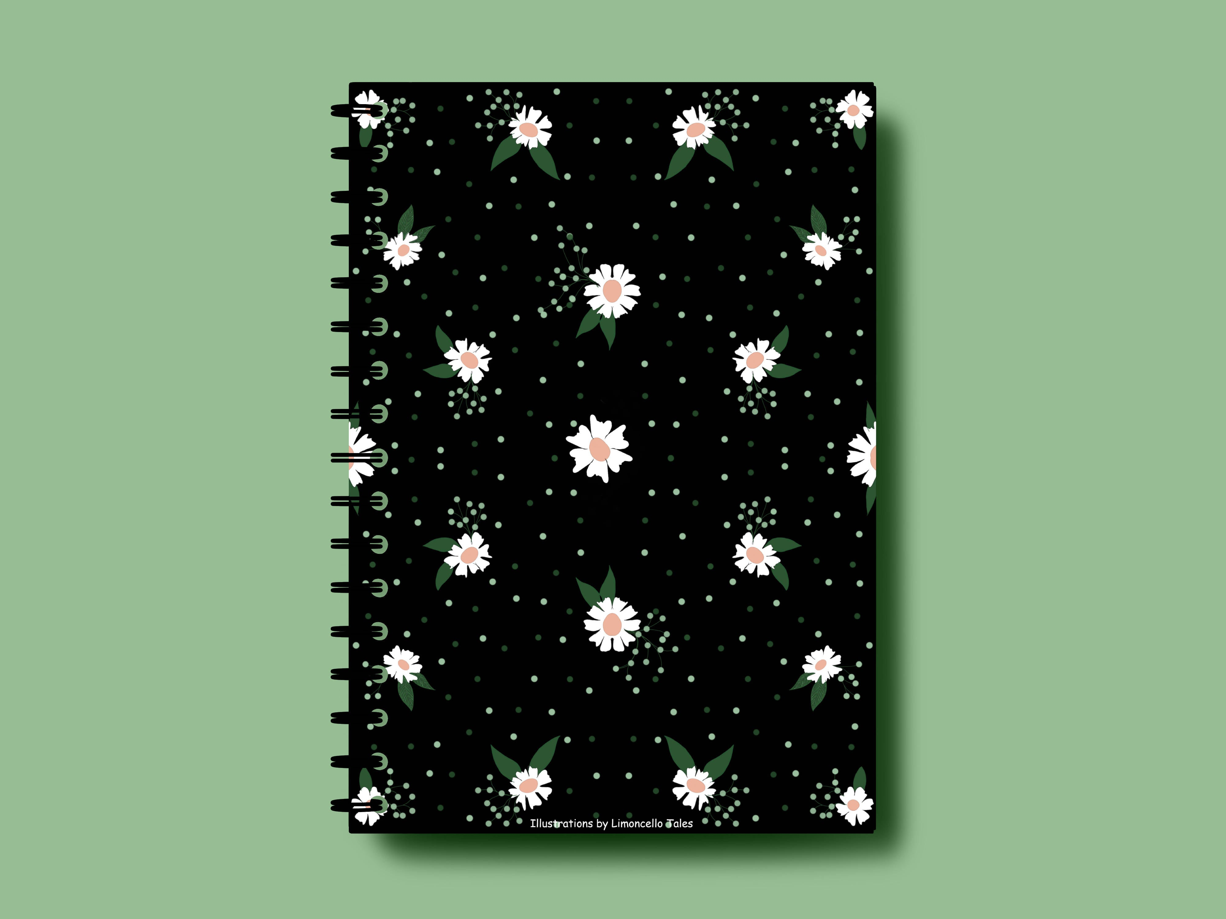 A Floral Affair A5 Notebook | Limoncello Tales