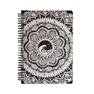 Wave Mandala A5 Notebook - Chinmayi Hegde
