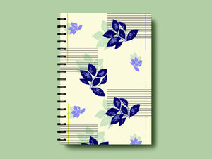 SOOTHING STRIPES A5 NOTEBOOK - SONAL