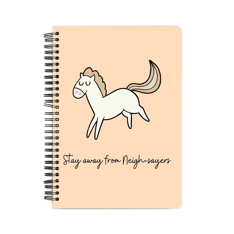 Neigh Sayer Notebook