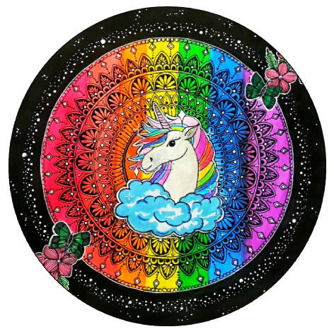 Unicorn Pop Grip- Sathi