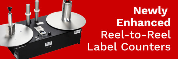 Our newly enhanced REEL-to-REEL COUNTERS are the perfect solution!